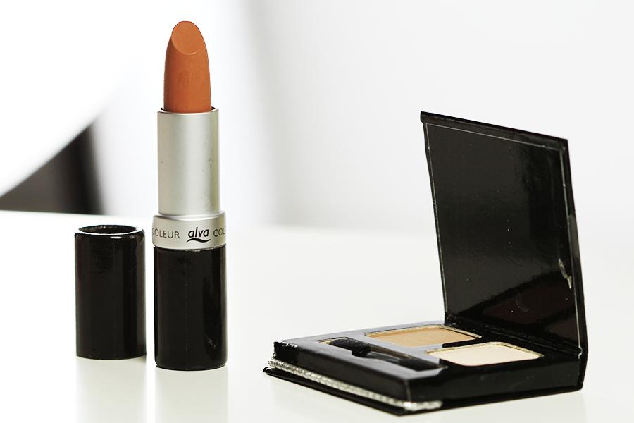 Alva-Lippenstift-und-eyeshadow-review
