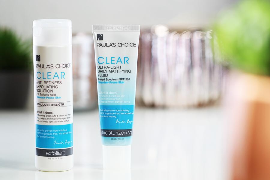 Erfahrungen-mit-Paulas-Choice-Test-Clear-exfoliant-and-moisturizer