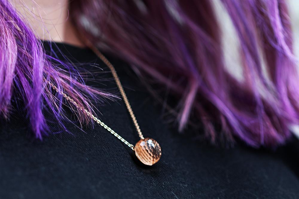 Purple Balayage Haartrend