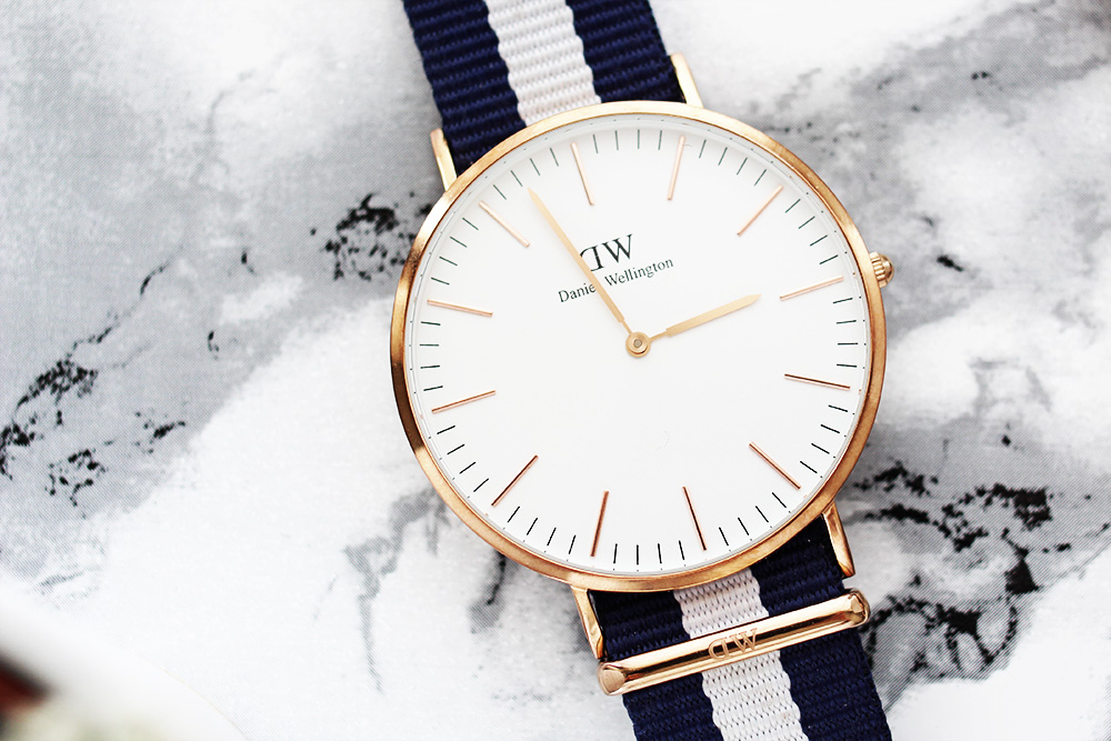 daniel wellington uhren meine modelle rosegold marble. Black Bedroom Furniture Sets. Home Design Ideas