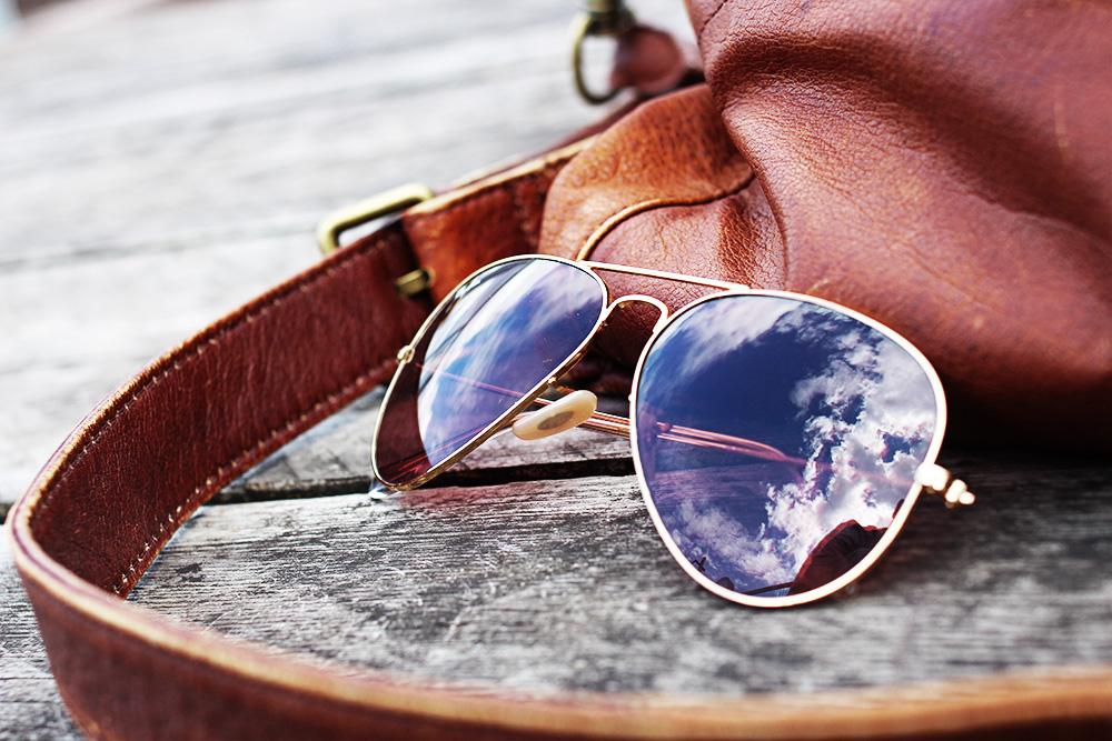 Libeskind-tasche-rayban-sonnenbrille