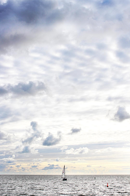Tagesausflug Norderney Nordsee-Segelboot