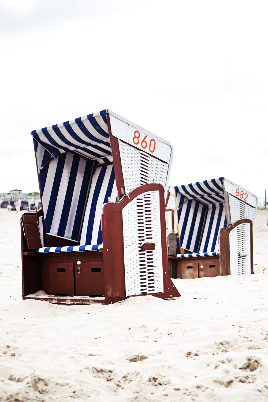 Urlaub in Deutschland Strandkorb Norderney