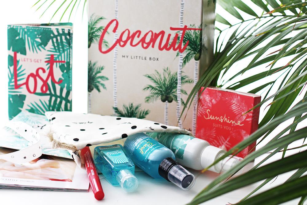 my little box juli-2016 coconut edition