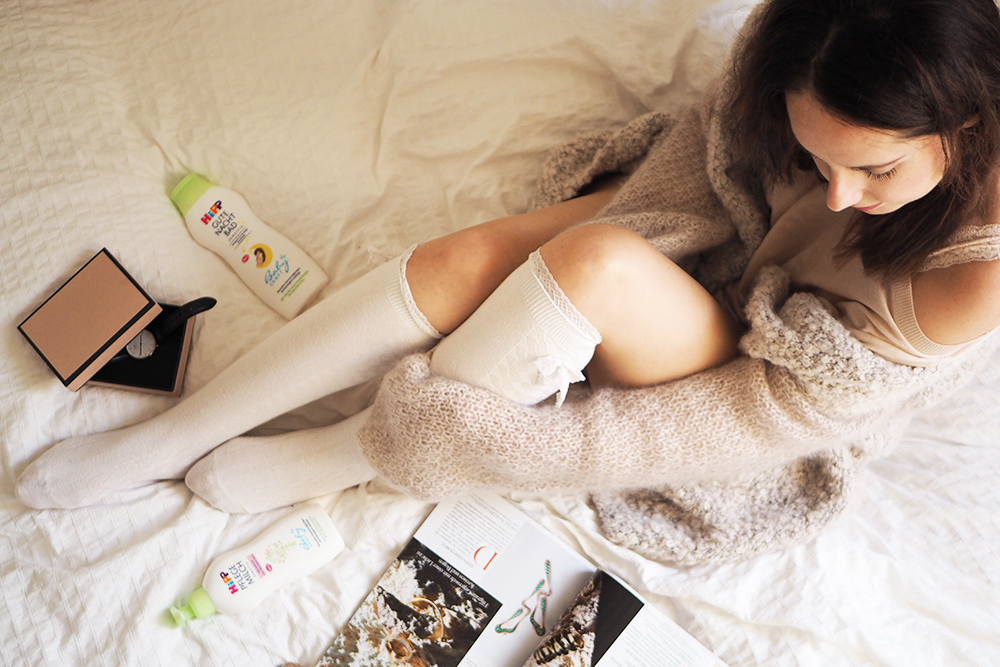 Hipp Pflegemilch bericht-gute-nacht-bad