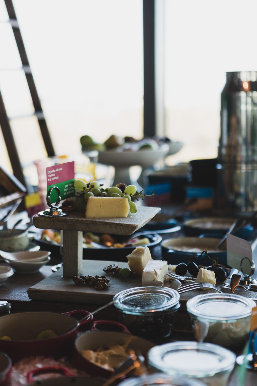 Frühstücksauswahl im 25hours Hotel Berlin