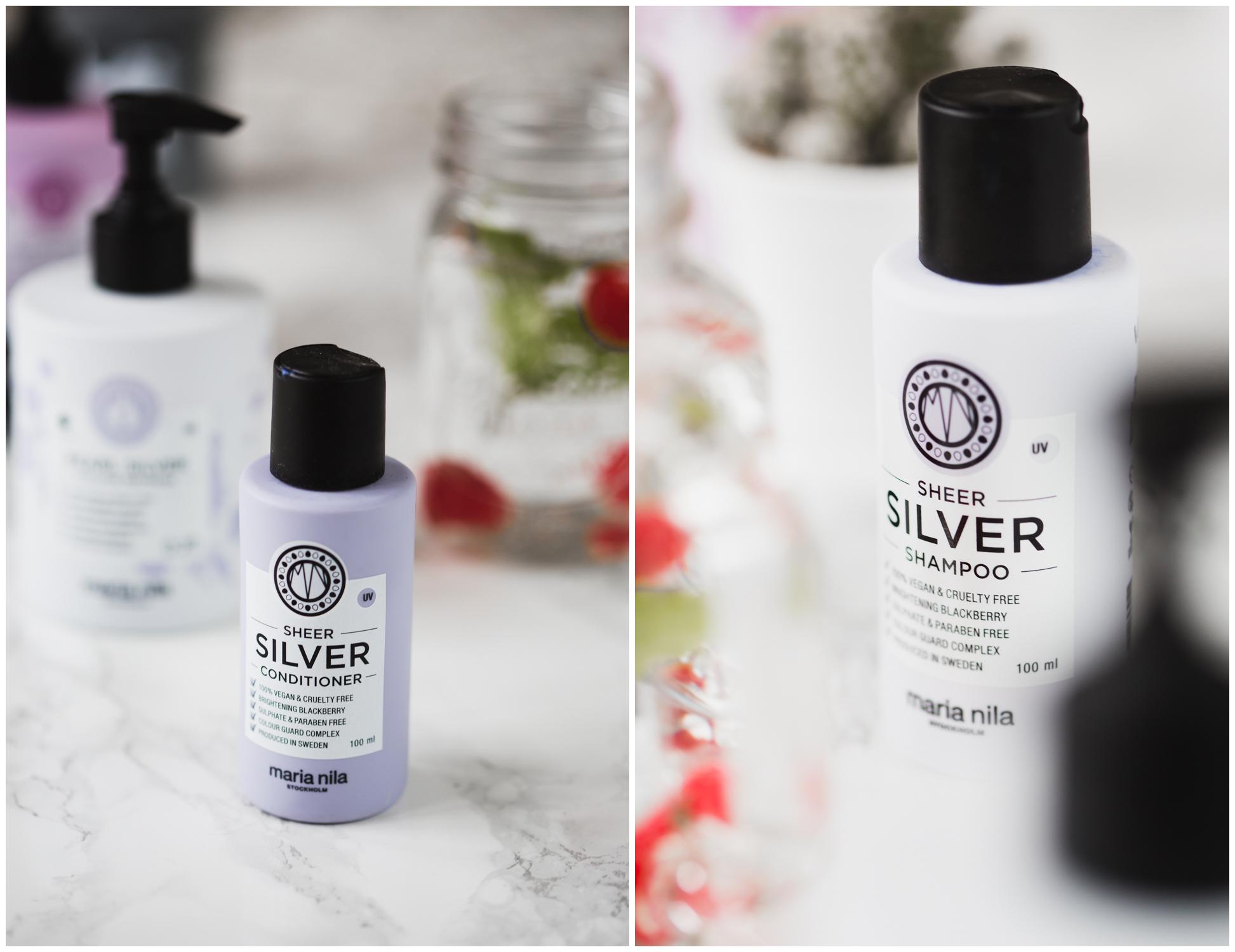Silver Shampoo und Conditioner Maria Nila