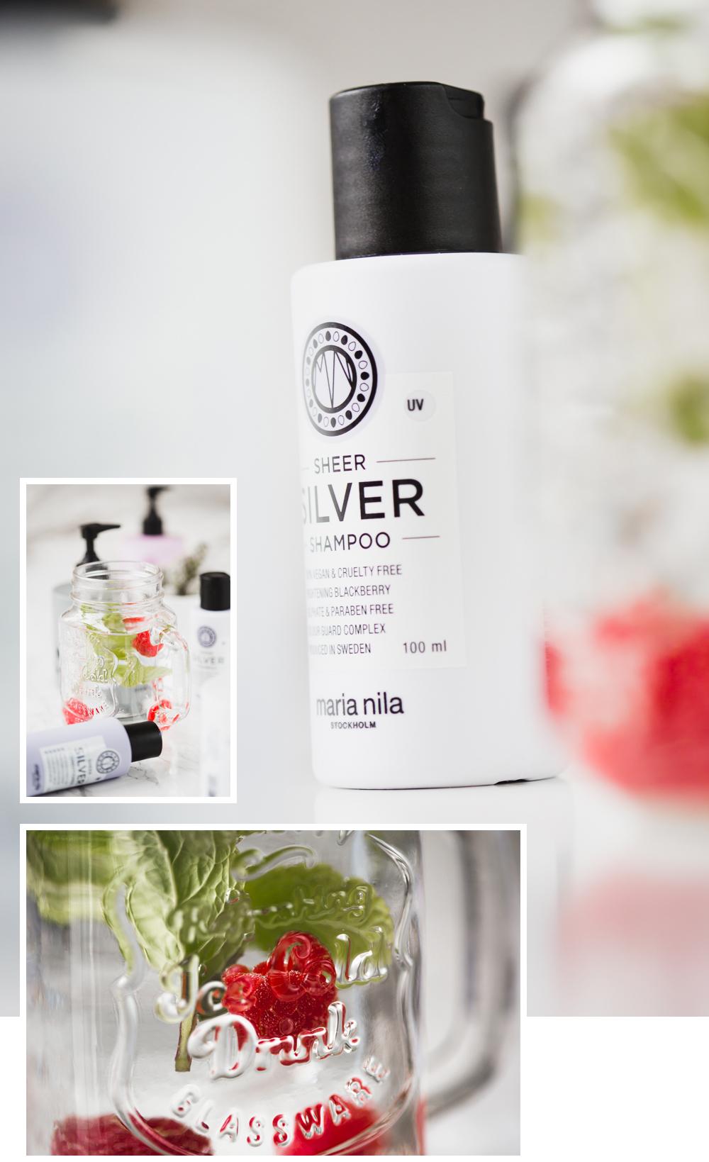 Maria Nila Sheer Silver Shampoo für kühles Blond