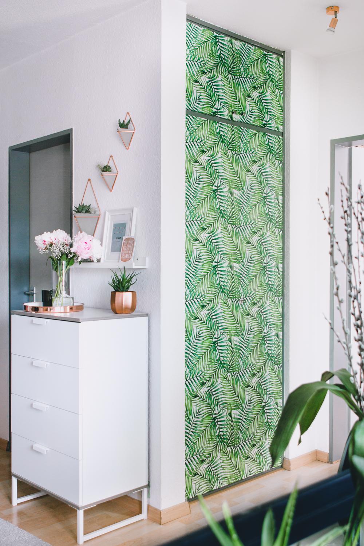 Wohntrend Urban Jungle, Dekoideen mit Pflanzen Prints – Rosegold ...