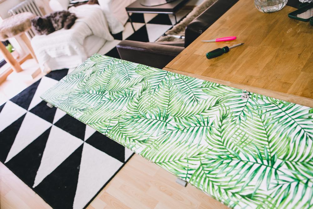 Palmen Print Klebefolie Urban Jungle Wohntrend