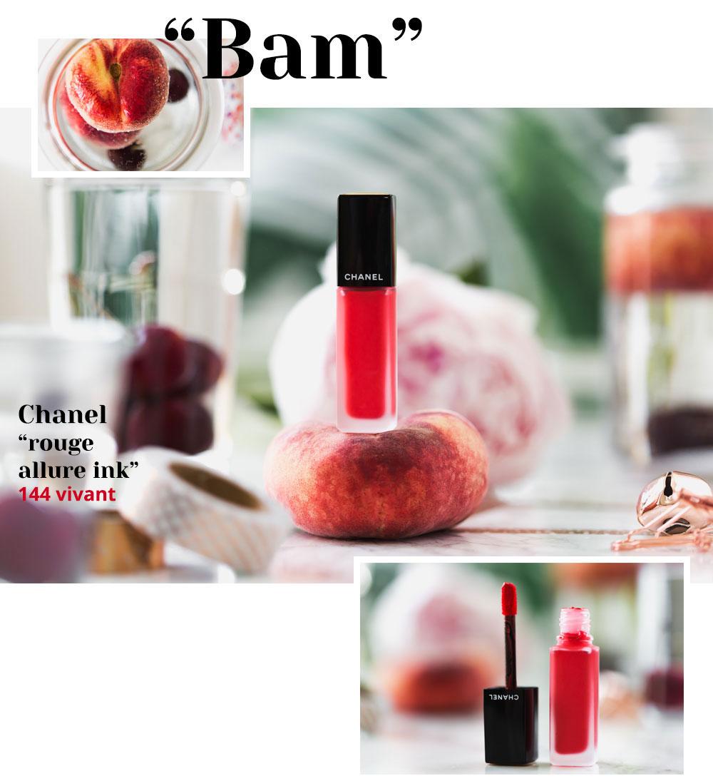 Der perfekte Lippenstift für den Sommer: Rouge Allure Ink 144 Vivant von Chanel