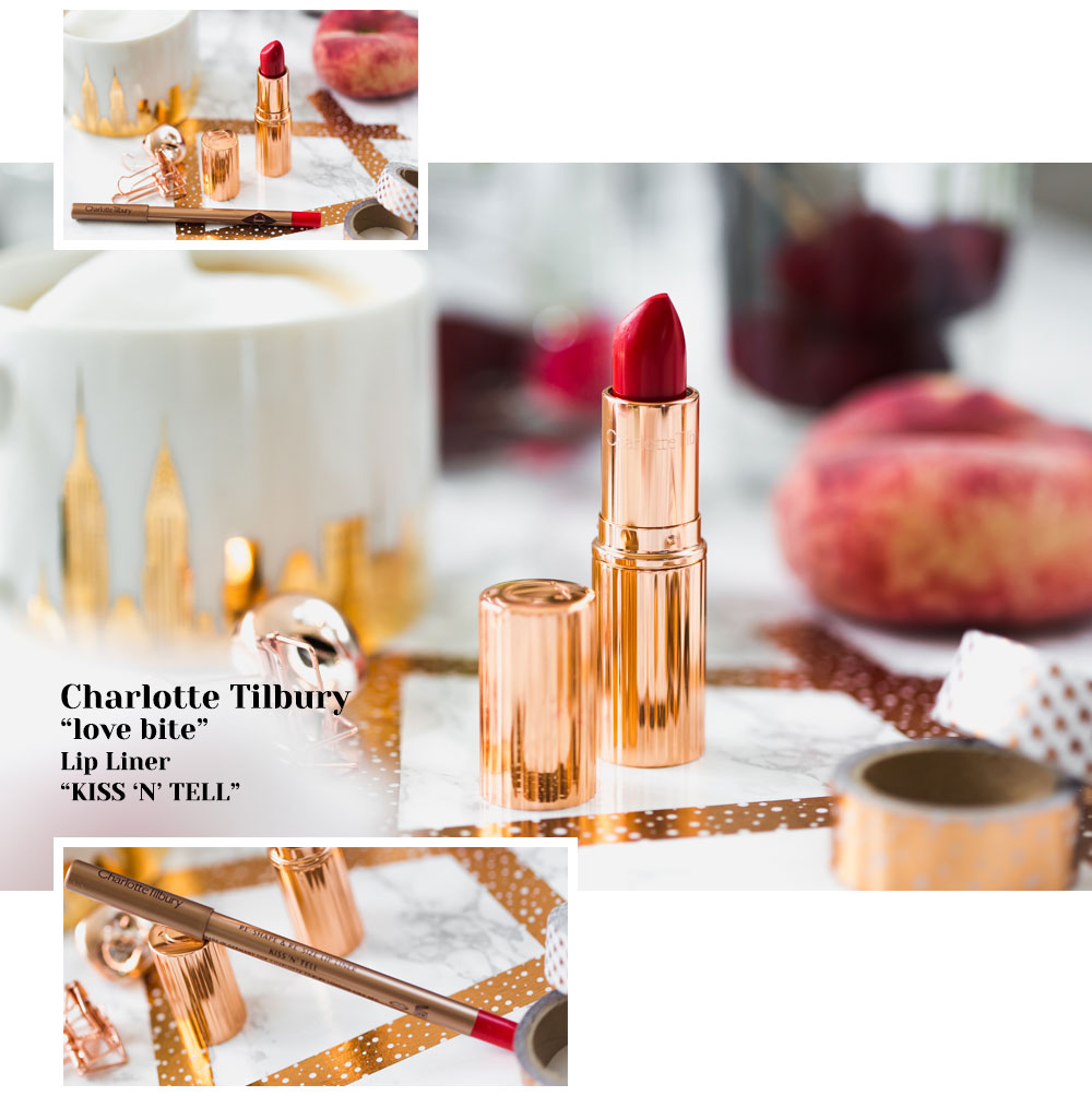 Love Bite und Kiss 'n' tell Lipstick, Lip Cheat Charlotte Tilbury