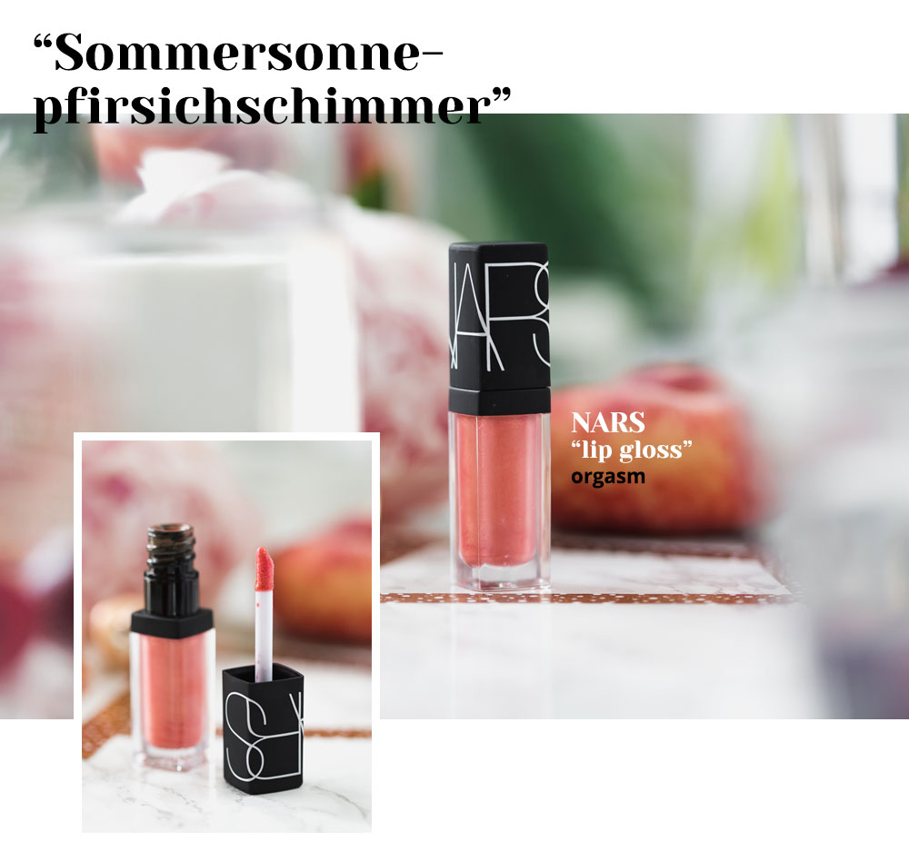 Lip Gloss für den Sommer, Nars Orgasm Lip Gloss