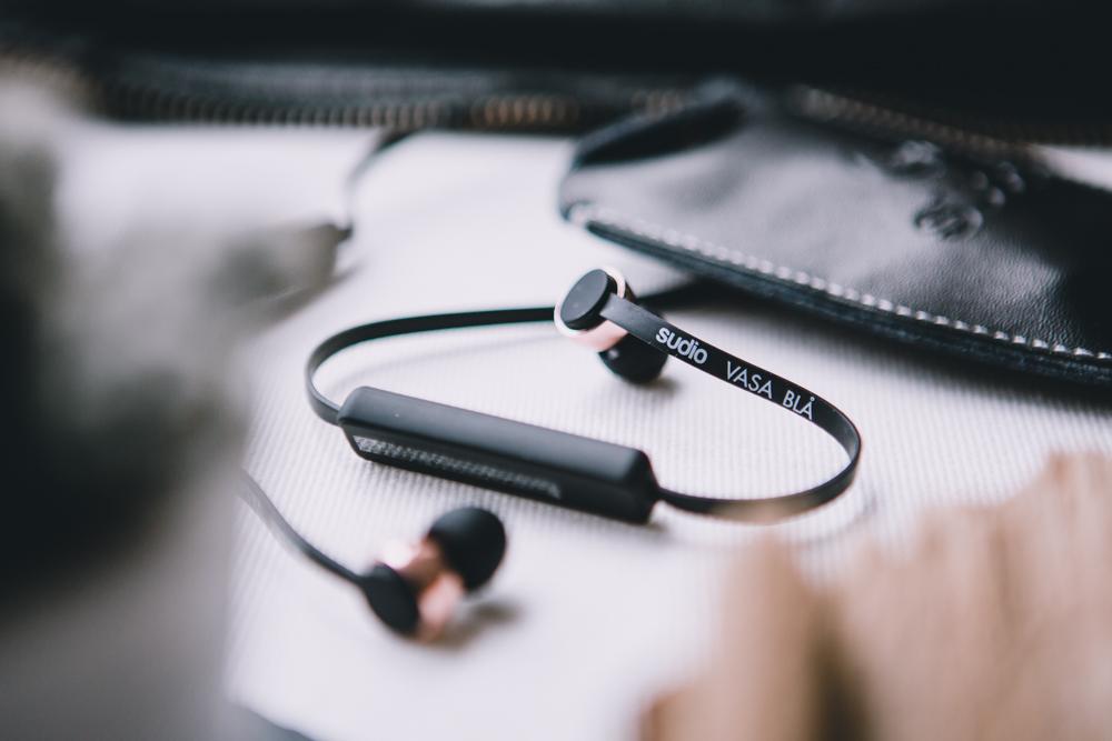 Sudio Sweden Bluetooth Kopfhörer schwarz roségold