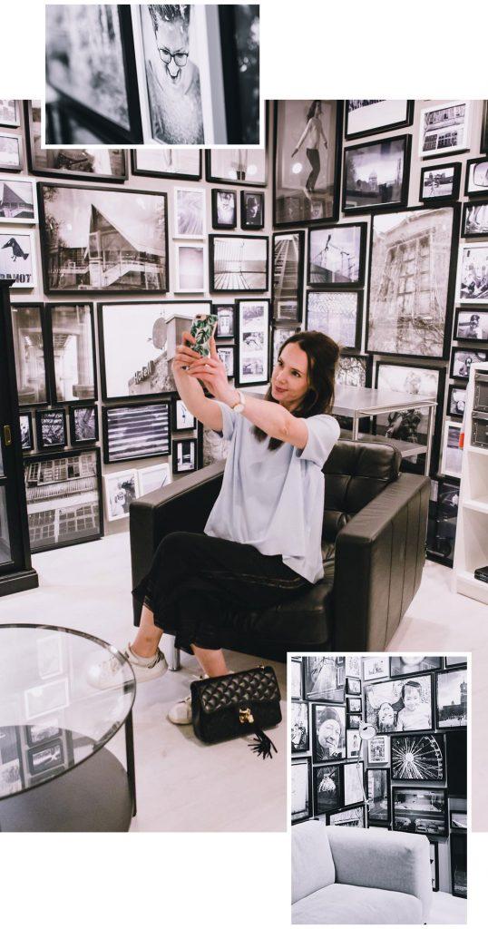 Fotografie Zimmer bei IKEA Bielefeld mit Rosegold and Marble