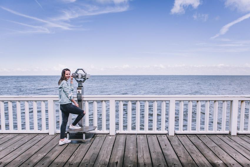 Cuxhaven Aussichtsplattform