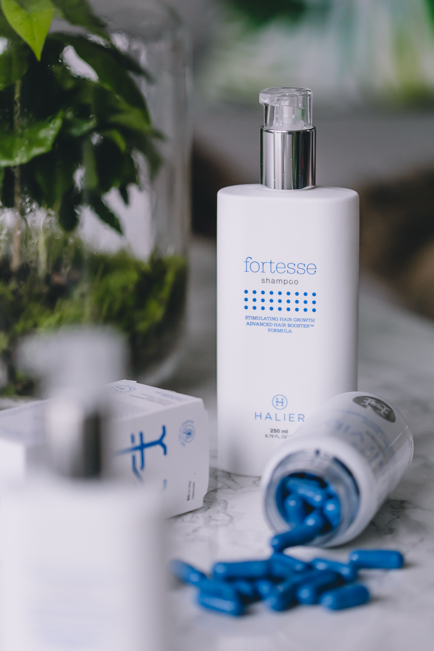Halier Shampoo und Pflegespülung gegen Haarausfall
