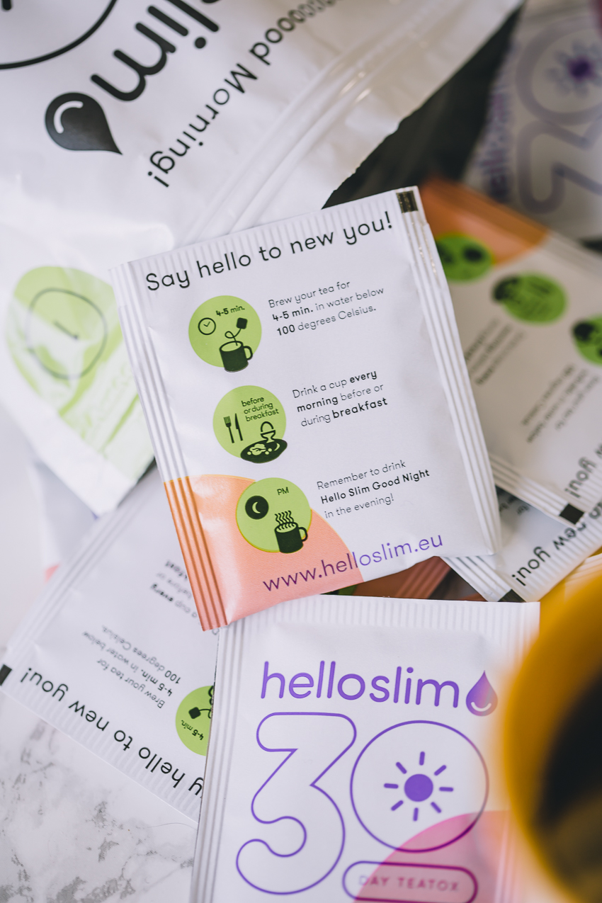 Hello Slim Fresh Start 1-monatiges Teatox Programm