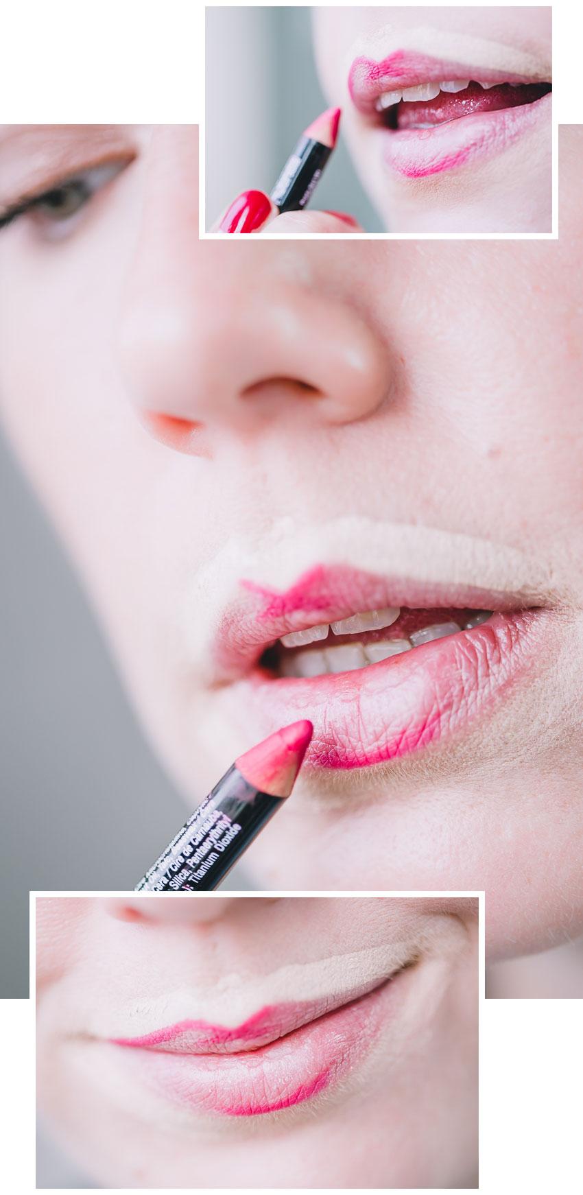 lippenstift richtig auftragen anleitung und tipps f r knallige lippenstifte rosegold marble. Black Bedroom Furniture Sets. Home Design Ideas