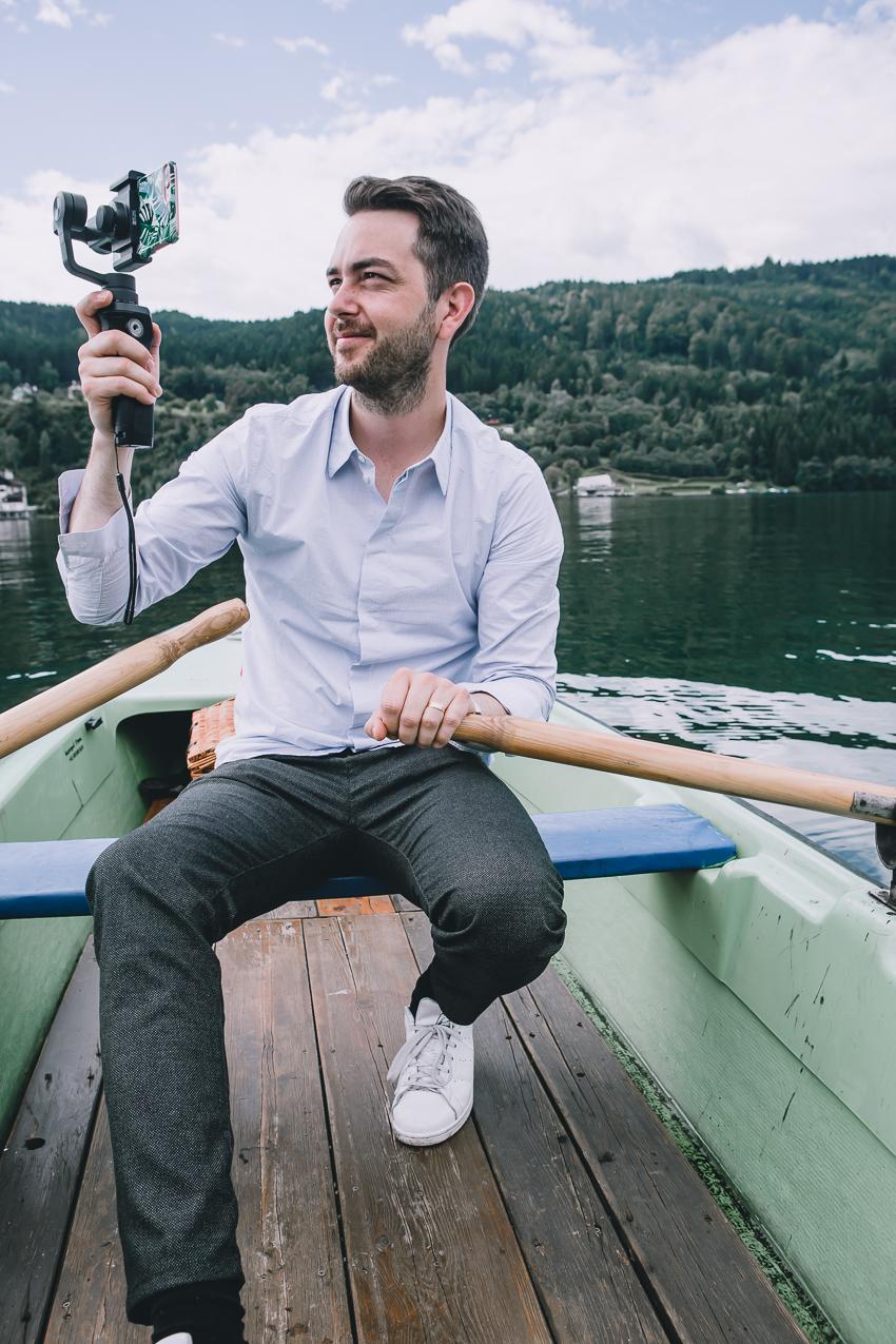 Kameraausrüstung für die Reise