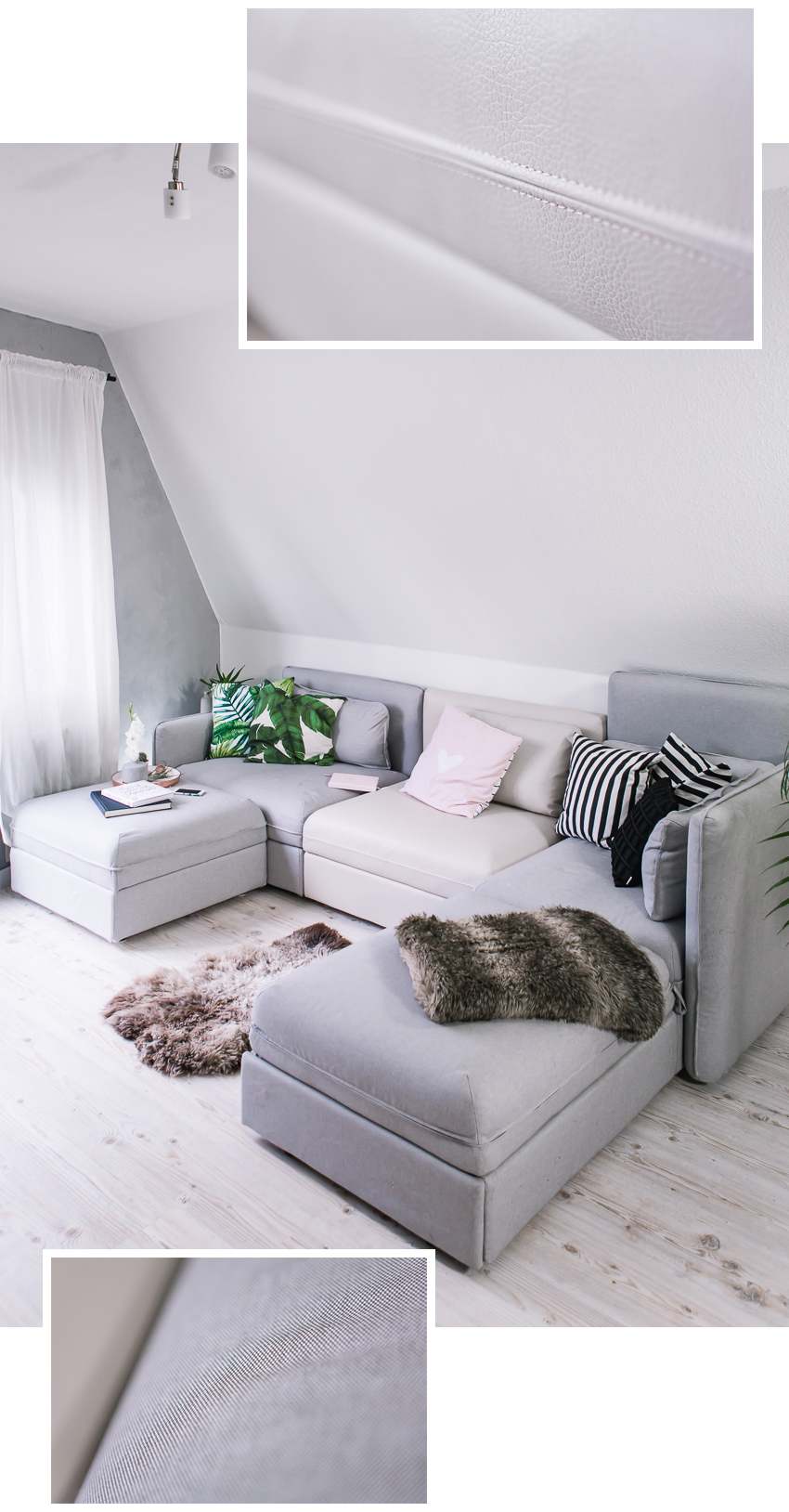Mein Neues Ikea Sofa Vallentuna Und Gewinnspiel Rosegold Marble