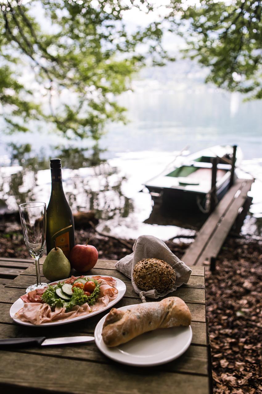 romantisches Picknick am Millstätter See
