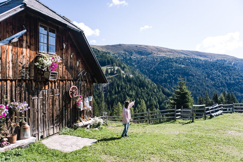 Wandern am Weg der Liebe Sentiero dell'Amor Schwaigerhütte