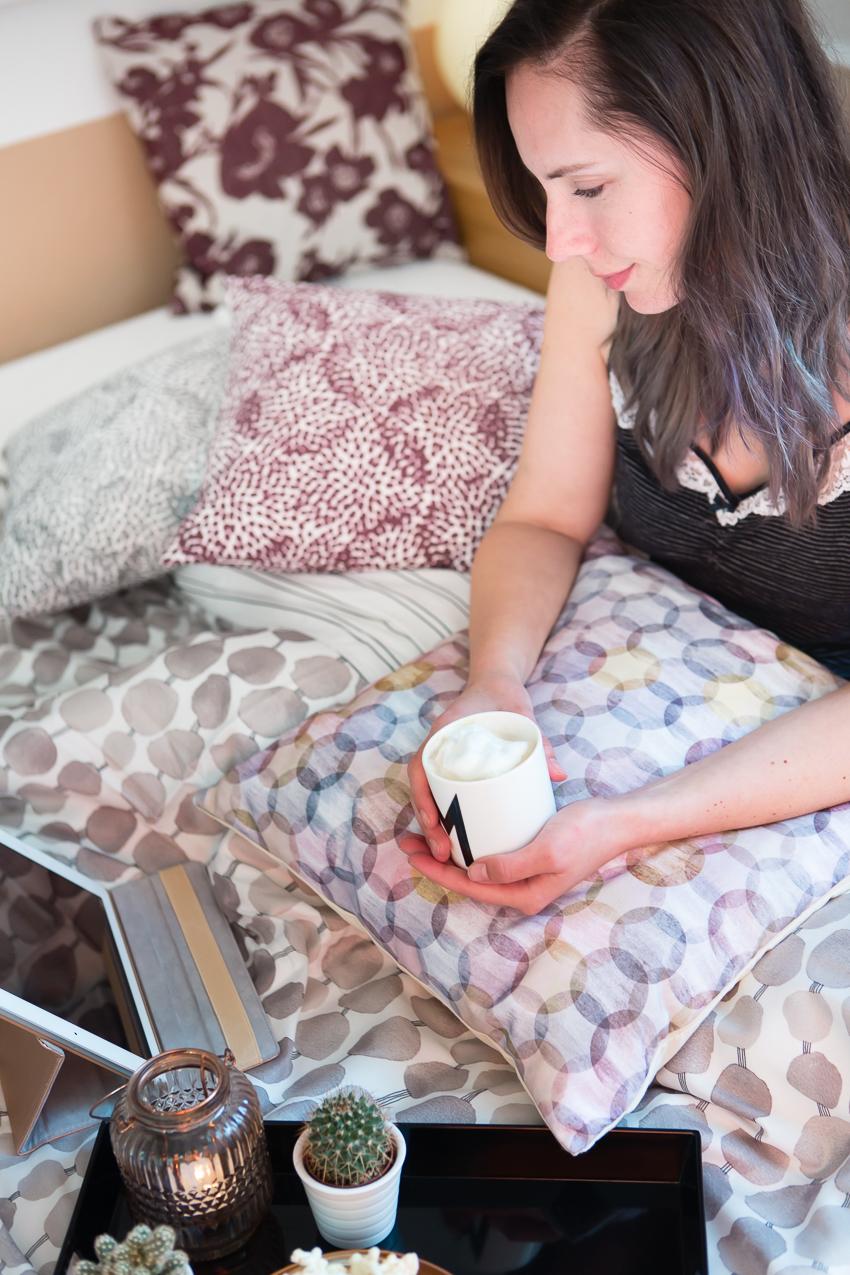 Hygge Herbst mit Esprit Home Bettwäsche und Kissen