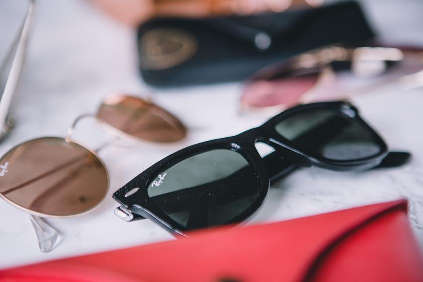 RayBan Wayfarer schwarz Sonnenbrille