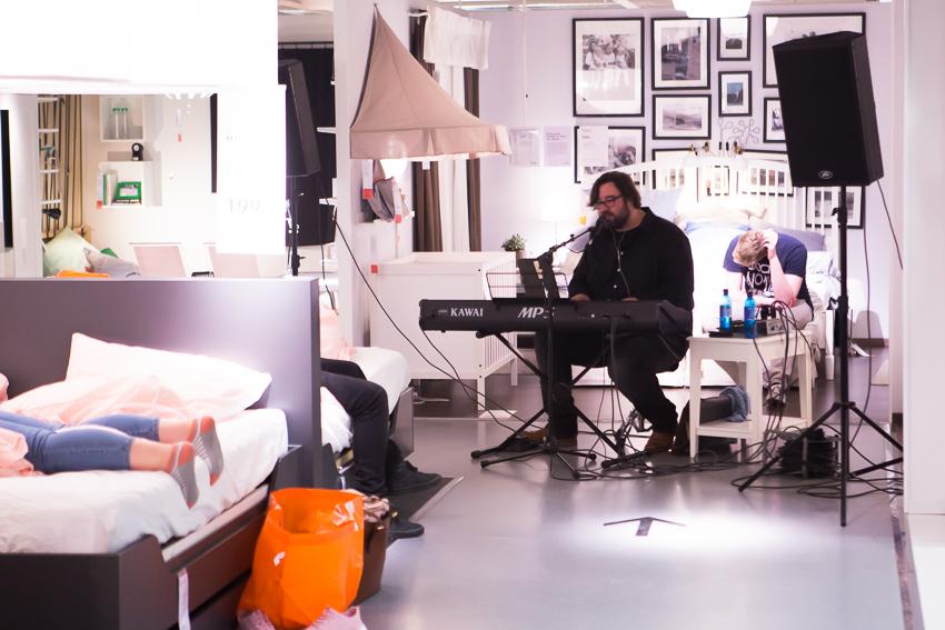 nachts bei ikea eine nacht bei ikea in bielefeld eventbericht rosegold marble. Black Bedroom Furniture Sets. Home Design Ideas