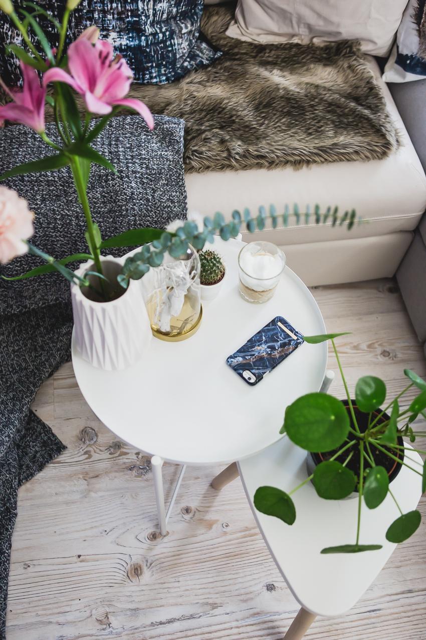 Wohnzimmer Pflanzen, Ideen zum Dekorieren