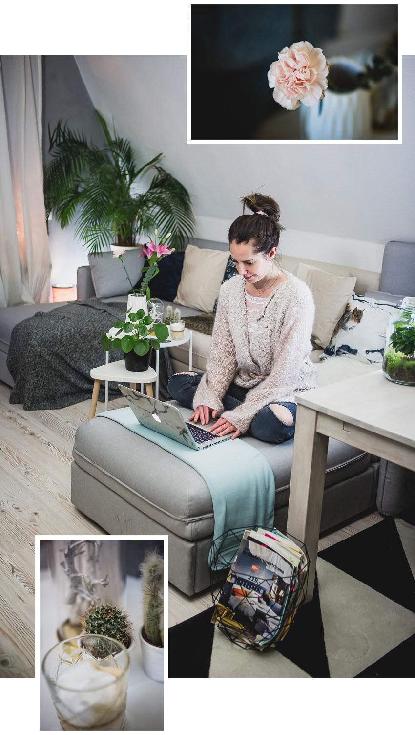 Schöne Wohnzimmer Deko Ideen: Trends schnell, schön und günstig ...