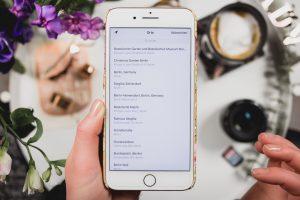Personen bei Instagram markieren, Ortangaben bei Instagram wählen