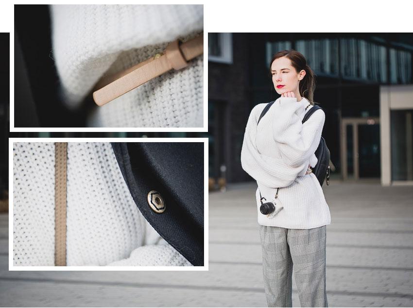 Weißen oversized Pullover von NA-KD kombinieren