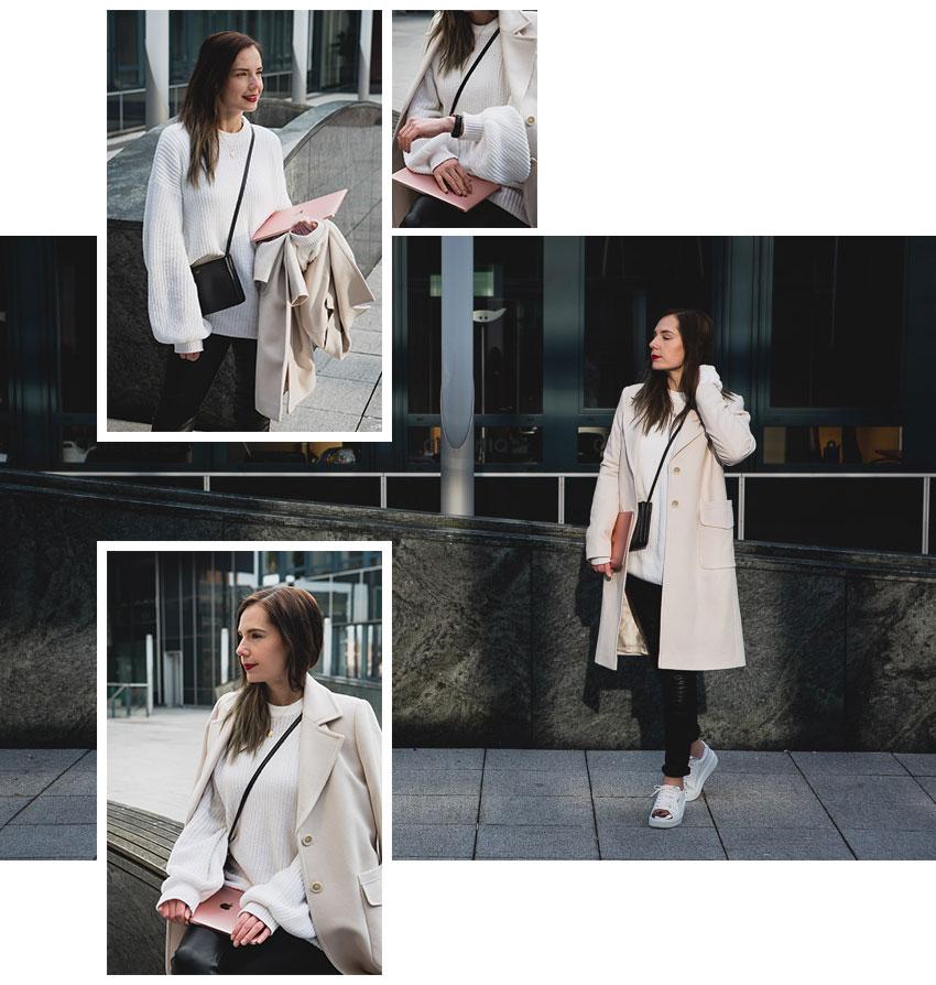 Weißen Pullover kombinieren: Styling Ideen für einen weißen Pullover von Casual bis Business