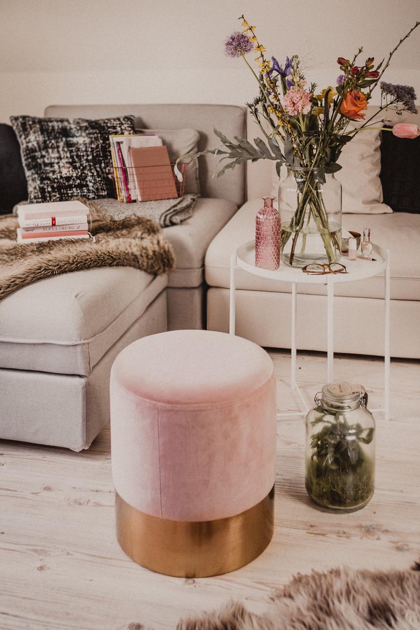 Deko Ideen für den Frühling - Deko Tipps fürs Wohnzimmer – Rosegold ...