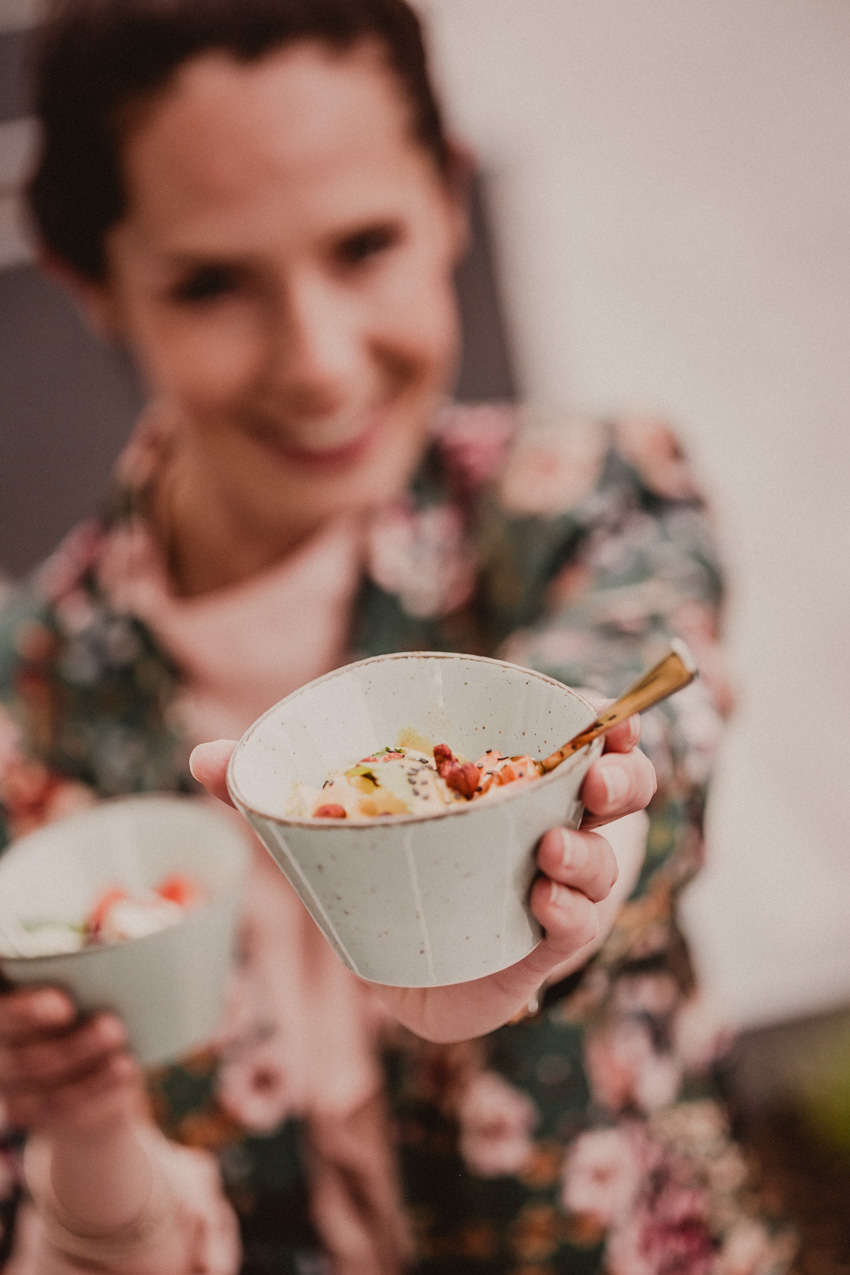 Foodtrend vegan glutenfrei lecker Poke Bowls