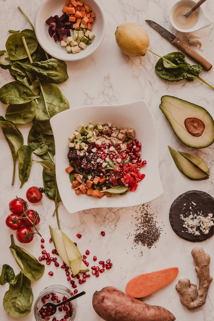 Poke Bowl Rezept und Zutatenliste zum Selbermachen