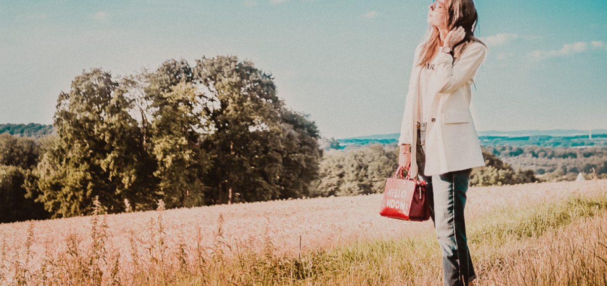 7c9f0d0b2e3f5 Rote Handtasche kombinieren  Stylingideen für eine rote Tasche – Rosegold    Marble