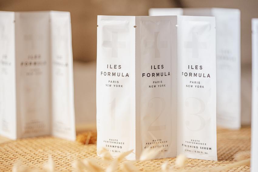 Iles Formula Shampoo, Spülung und Serum